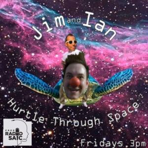 Jim and Ian Hurdle Through Space